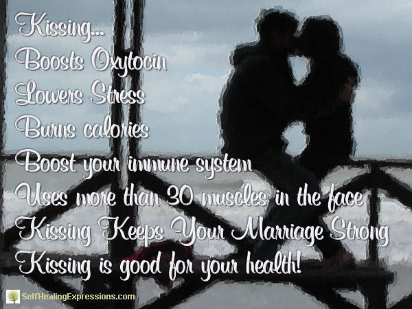 Kissing benefits facts