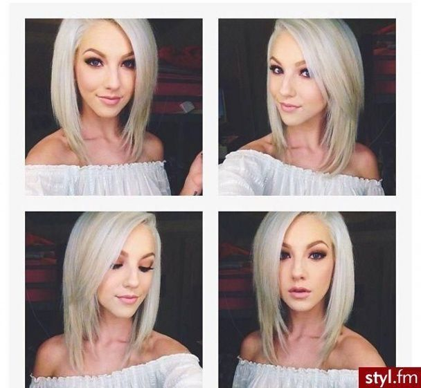 Angled Long Bob Haircut Pictures Photos And Images For Facebook