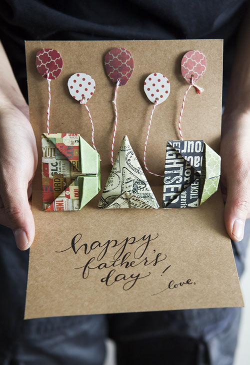 Origami Pop Up Father's Day Card Pictures, Photos, and ...