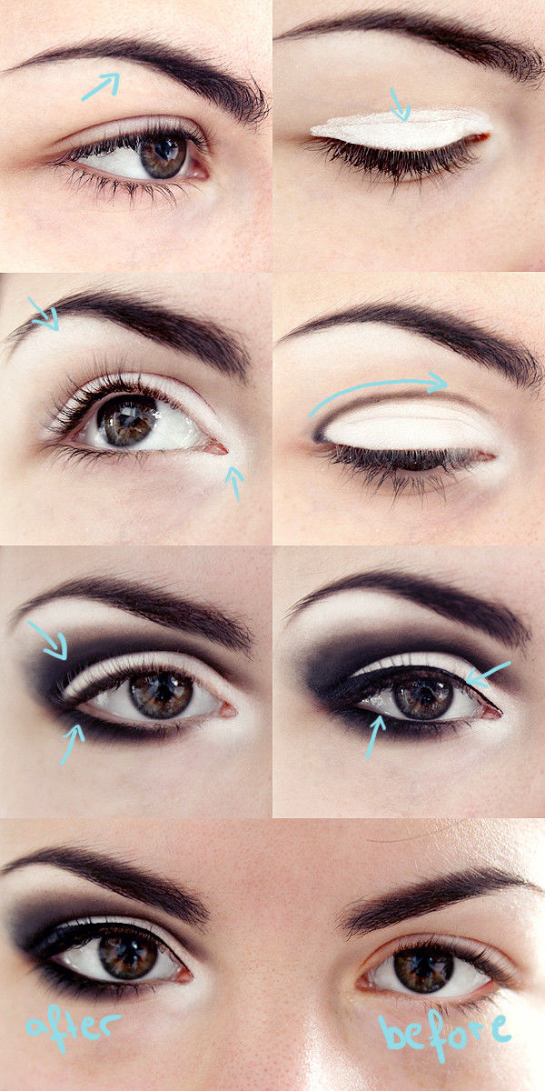 Smokey Eye Makeup: How To Do Dark Smokey Eye Makeup