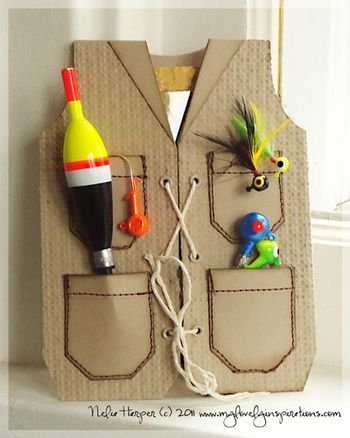 Father's Day Fishing Vest Card Pictures, Photos, and ...