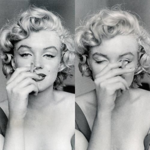 Marilyn Monroe Pictures Tumblr Marilyn Monroe with cigarette