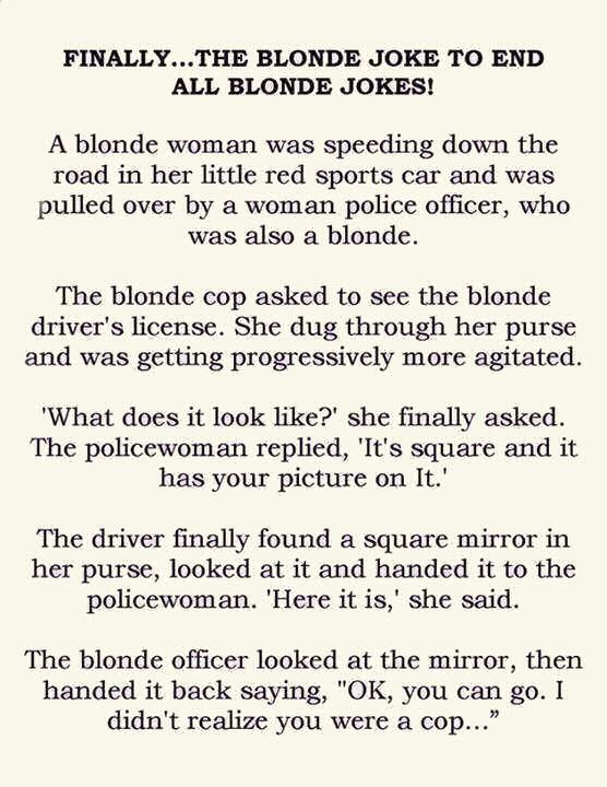 Finally... The Blonde Joke To End All Blonde Jokes ... | 556 x 720 jpeg 78kB