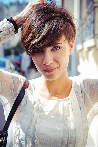 Pixie Cut With Bangs Pictures Photos And Images For
