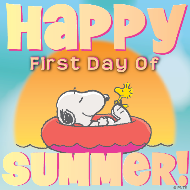 Image result for first day of summer snoopy