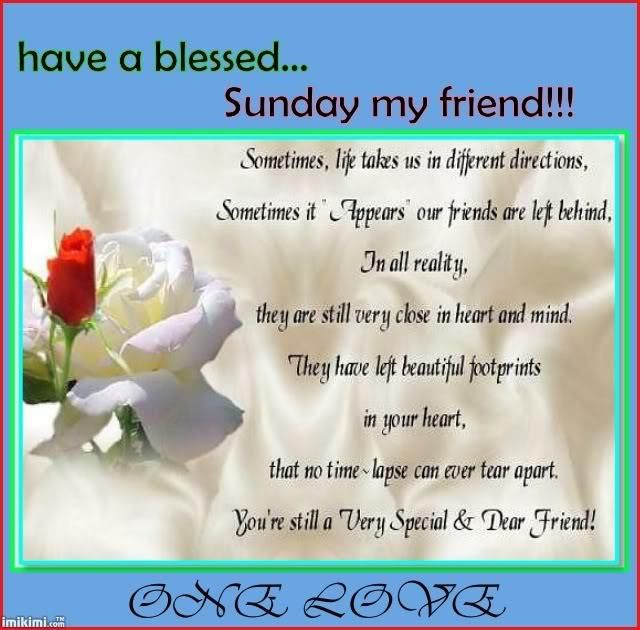 Good Morning Happy Sunday My Friend : Have a blessed sunday my friend pictures photos and