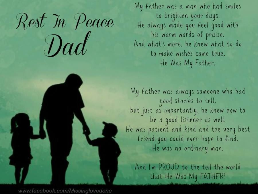 rest in peace dad