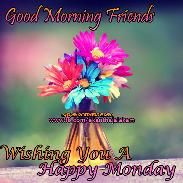 Good morning friends happy monday pictures photos and images for good morning friends happy monday voltagebd Gallery