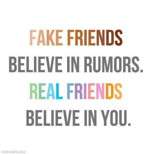 Funny Quotes For Real Friends : Real friends believe in you pictures photos and images