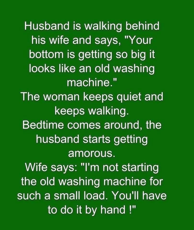 Funny Husband And Wife Joke Pictures, Photos, and Images ...