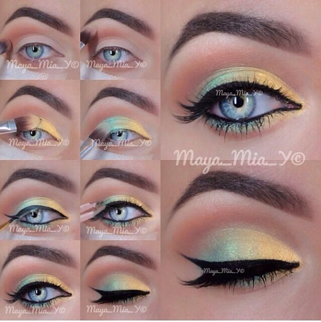 How To Apply Two Tone Eyeshadow Pictures, Photos, And
