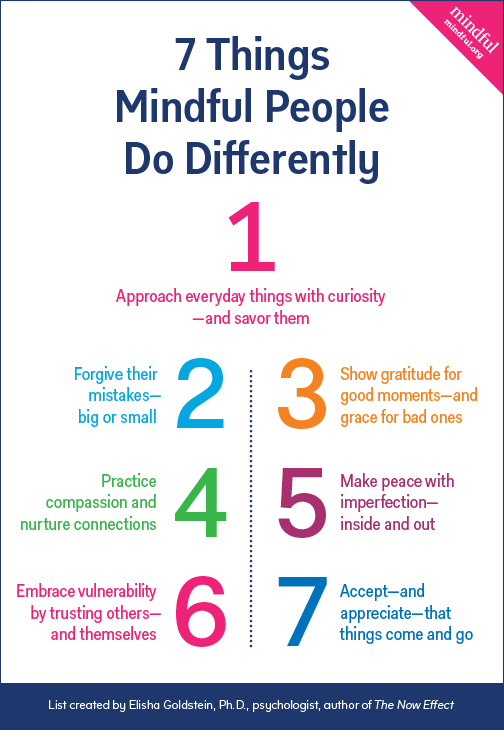 7 Things Mindful People Do Differently