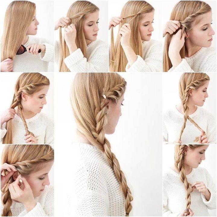Superb Easy Side Braid Hairstyles Tutorial Best Hairstyles 2017 Short Hairstyles For Black Women Fulllsitofus