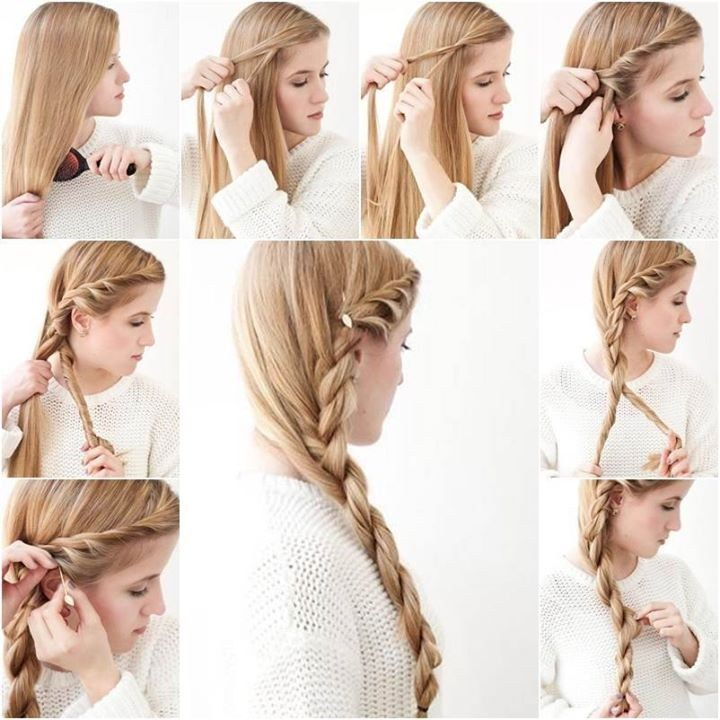 Enjoyable Easy Side Braid Hairstyles Tutorial Best Hairstyles 2017 Hairstyle Inspiration Daily Dogsangcom