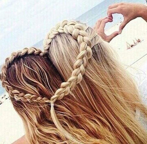 Best Friends Heart Hairstyle Pictures, Photos, and Images for Facebook ...