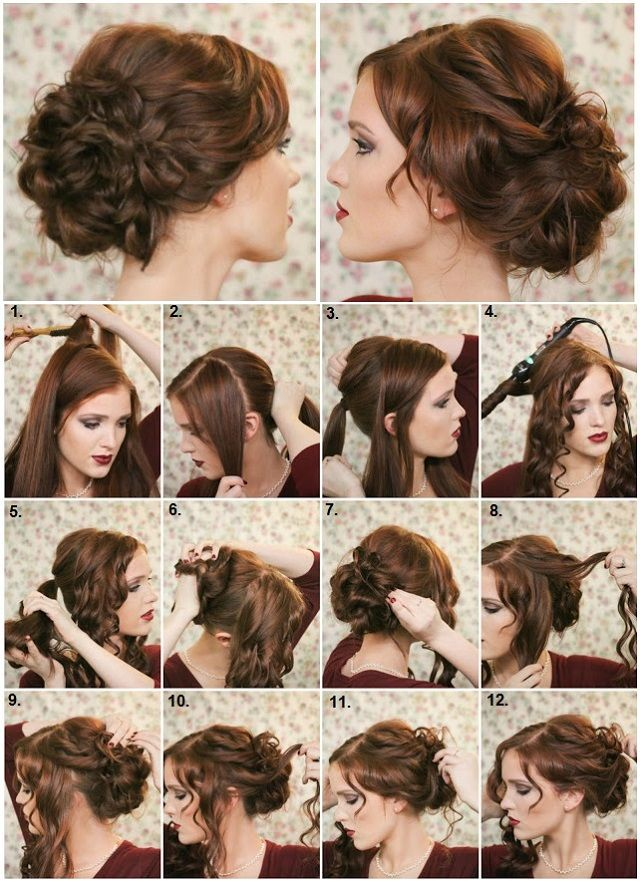 DIY Fancy Bun Hairstyle Pictures, Photos, and Images for Facebook, Tumblr, Pinterest, and Twitter