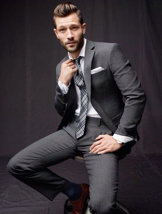 Steel Grey Slim Suit Pictures, Photos, and Images for Facebook ...