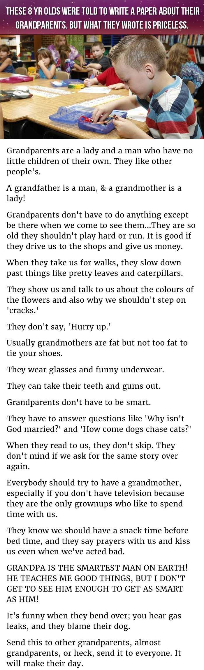 essay about your grandparents