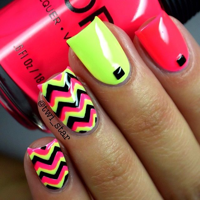Neon Nail Designs - Neon Nail Designs Pictures, Photos, And Images For Facebook