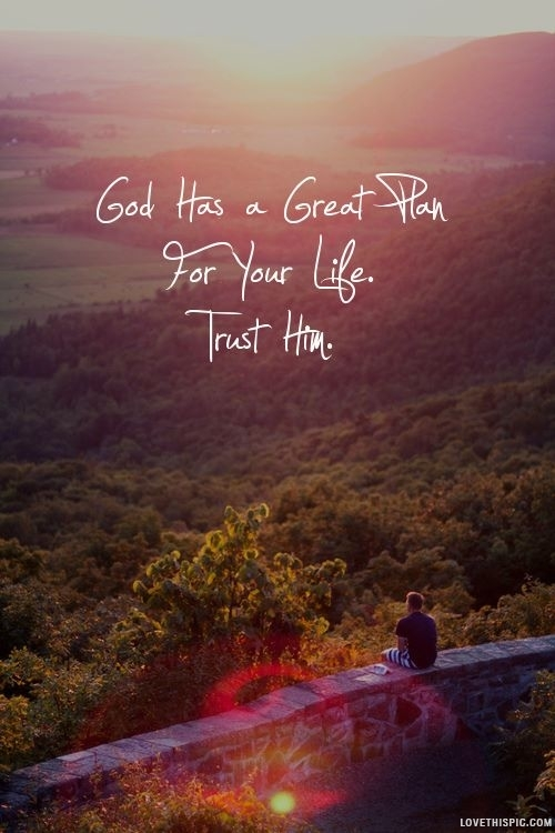 god has a great plan