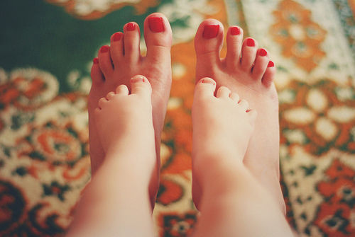 Mother And Baby Toes Pictures, Photos, And Images For