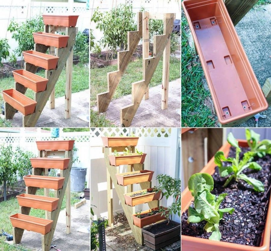 Giardino Pensile Sul Terrazzo : Diy vertical planter garden pictures photos and images