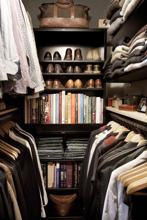 Neat Menu0027s Closet