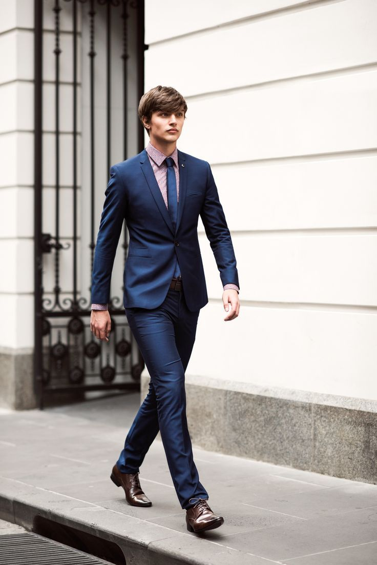 Slim Navy Blue Suit Pictures, Photos, and Images for Facebook ...
