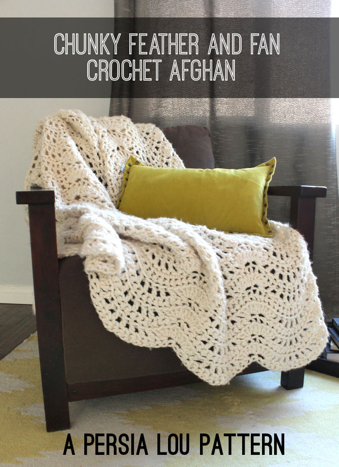 Feather And Fan Crochet Afghan Pictures, Photos, and Images for Facebook, Tum...
