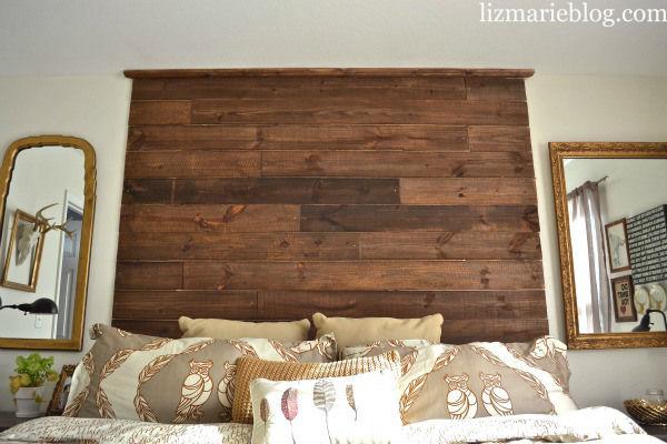 rustic wooden headboards  clandestin, Headboard designs