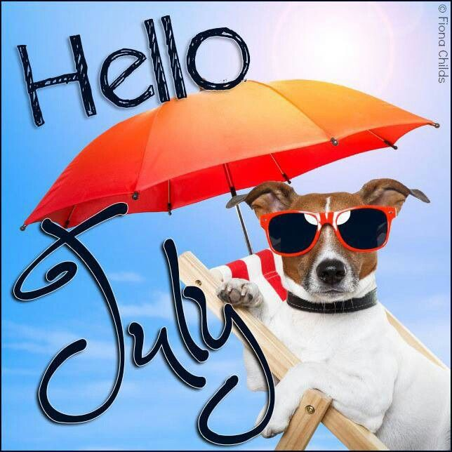 Image result for hello july