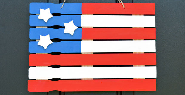 American Flag Paint Stick Project Pictures Photos And