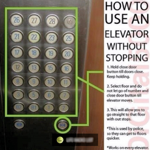 How To Use An Elevator Without Stopping Pictures Photos