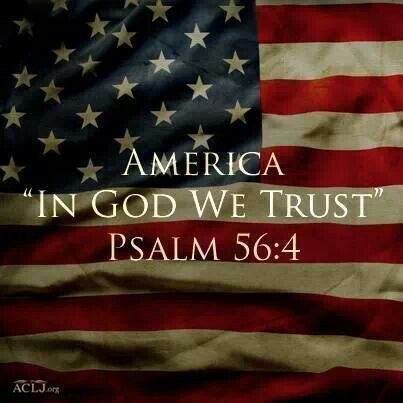 God Bless America in God We Trust
