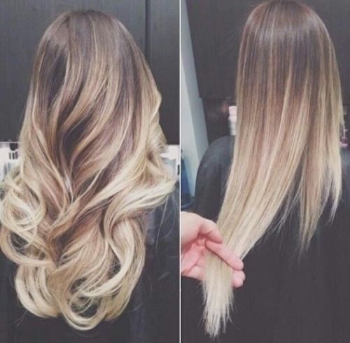 Wondrous Blonde Ombre Hairstyle Pictures Photos And Images For Facebook Hairstyles For Women Draintrainus