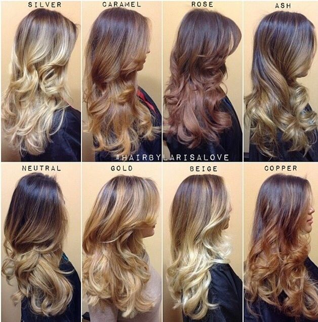 Shades of blonde ombre pictures photos and images for facebook shades of blonde ombre urmus Images