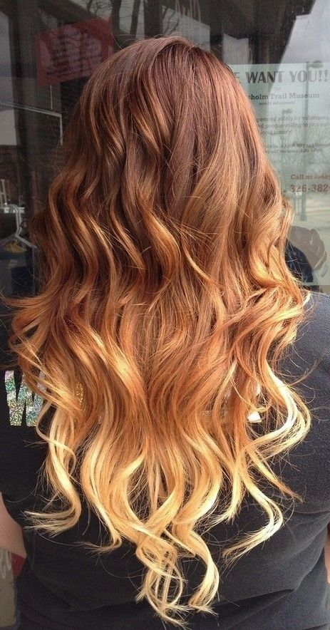 Red To Blonde Ombre Hair Pictures Photos And Images For Facebook