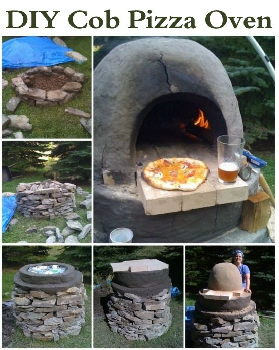 Diy outdoor pizza oven pictures photos and images for for Outdoor oven diy