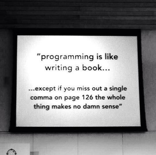Programming Is Like Writing A Book Pictures Photos And