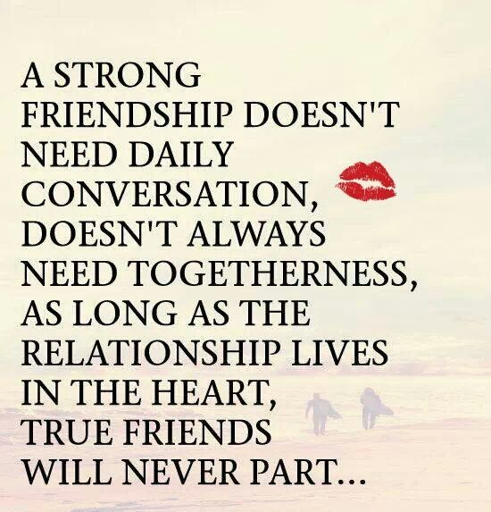 Strong Poetry Quotes: A Strong Friendship... Pictures, Photos, And Images For