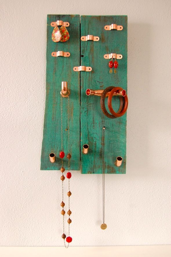 Pallet And Pipe Jewelry Holder Pictures Photos And
