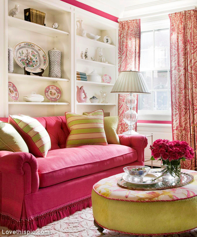 pretty red living room pictures photos and images for