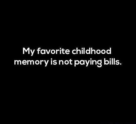 my favourite childhood memory