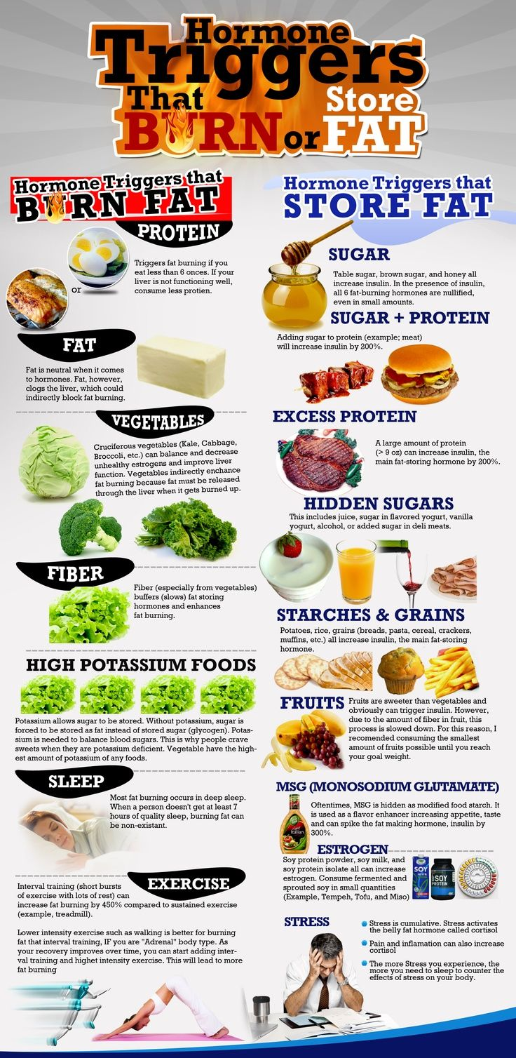 Hormone Triggers That Burn And Store Fat Pictures, Photos ...