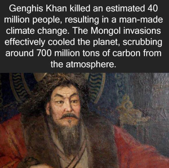 Climate Conscious Genghis Khan Pictures Photos And Images