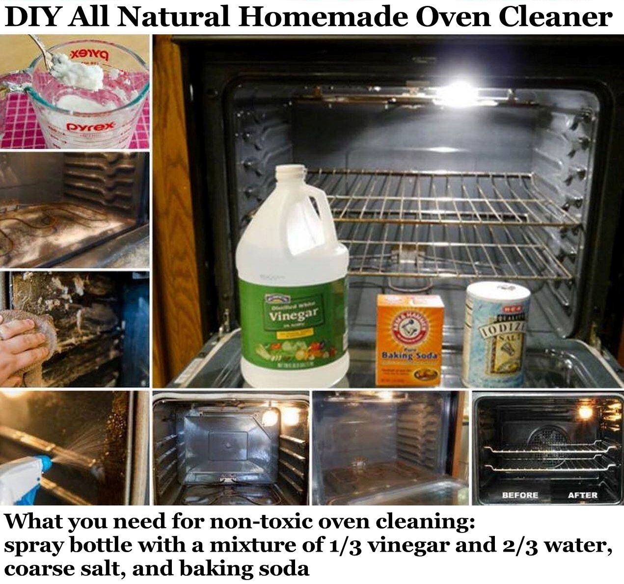 diy all natural homemade oven cleaner pictures, photos, and images