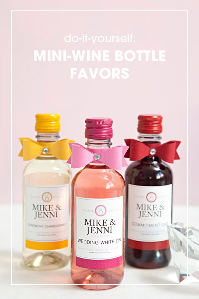 mini wine bottle favors pictures photos and images for facebook
