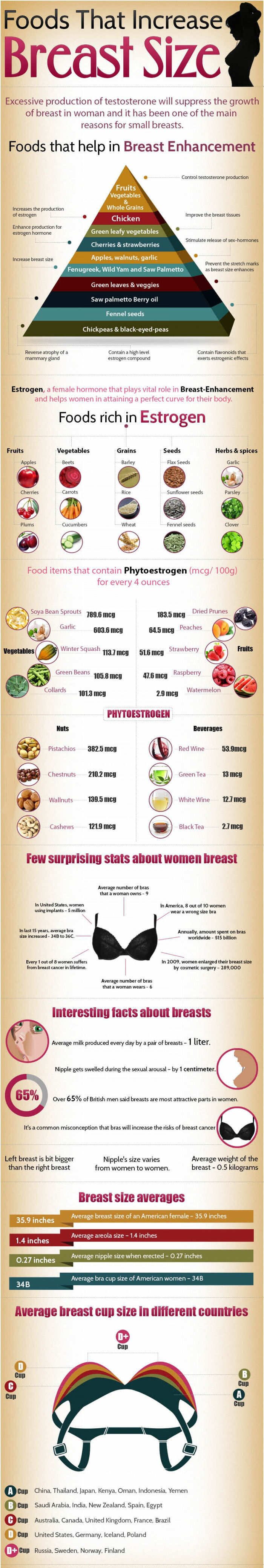 Foods That Increase Breast Size Pictures, Photos, and ...