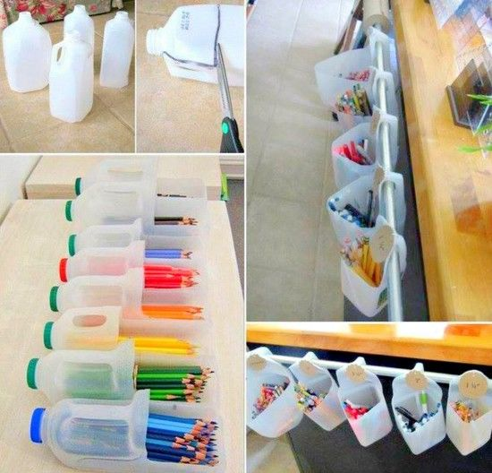 Recycle Old Plastic Milk Bottles Into These Handy