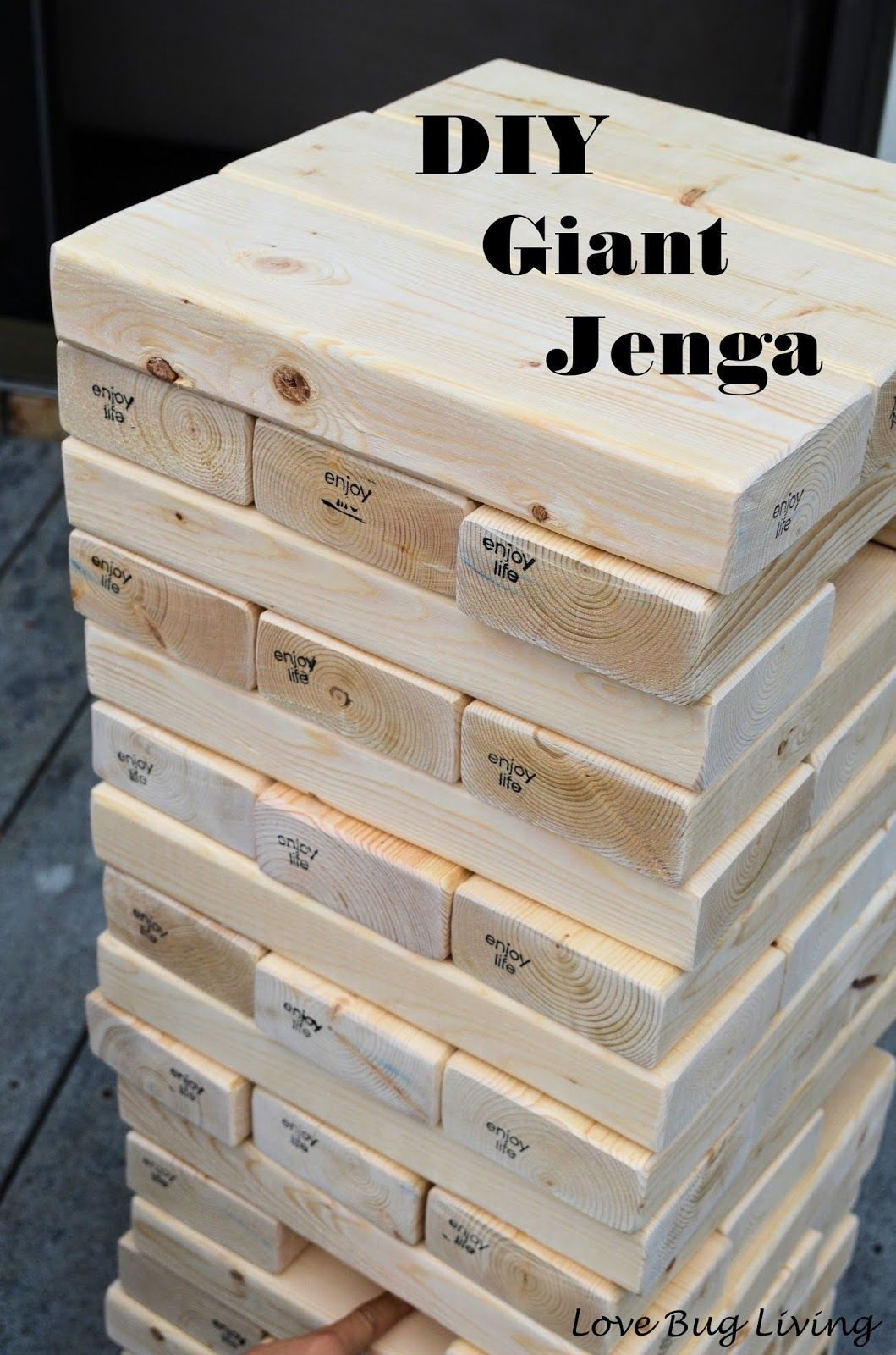 Giant jenga game pictures photos and images for facebook tumblr giant jenga game solutioingenieria Gallery